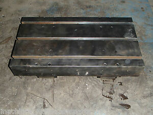 26 X 14 X 5 Steel Welding T slotted Table Cast Iron Layout Plate T slot Weld