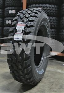 1 New Nankang Mudstar Radial Mt Mud Tire 2657516 265 75 16 26575r16