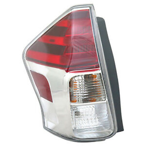 15 17 Toyota Prius V Left Driver Side Tail Light Nsf Certified