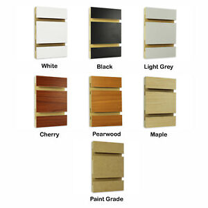 4 Ft X 8 Ft Slatwall Panel Made In Usa Multiple Colors Available Ny Pickup