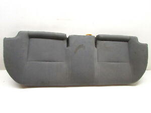 2007 Toyota Prius Rear Lower Bench Seat Cloth Gray Fe11 Oem 04 06 07 08 09