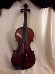 4 4 E Martin Sachsen Violin Copy Of Amati W Tourte Model E Martin Sachsen Bow