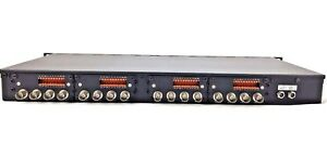 Bosch Vip x1600 16 channel Bnc Rack Mount Video Encoder 4 Video Card Modules