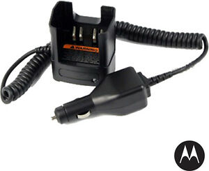 Motorola Nntn8525a Mototrbo Vehicle Travel Charger 12 Vdc
