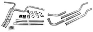 Dynomax 89003 Exhaust System Kit Manifold Dual Kit 2 25 In Tube Size Incl