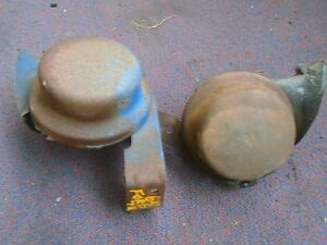 Vintage Antique Car Truck Automobile Horn Pair For 1964 Ford