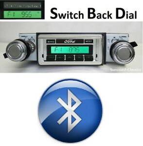 1973 79 Ford Truck Bluetooth Am Fm Stereo W Switch Back Am Face Radio 630dfb