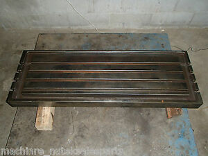 42 X 12 25 X 1 5 Steel Welding T slotted Table Cast Iron Layout Plate T slot