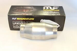 3 Magna High Flow Catalytic Convertor 59959 Spun Metallic Cat