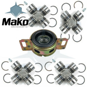 Driveshaft U joints Center Bearing Repair Kit For Toyota Tacoma 95 04 4wd