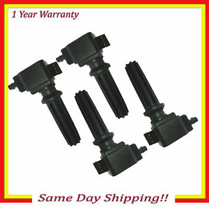 Ignition Coil For 13 16 Ford Edge Focus Lincoln Mkz 2 4l Ufd670 4 Set 4pcs