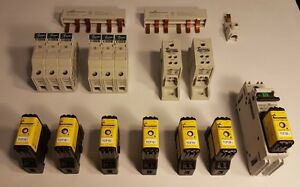 new Bussmann Lot 15 Items Cube Fuses Fuse Holders Power Distribution Blocks