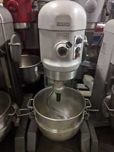 Hobart 60 Qt Dough Mixer With Bowl H 600t Commercial Mixing Machine