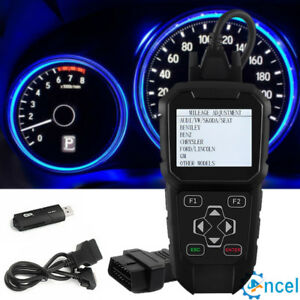 Odometer Adjustment Mileage Correction Obd Diagnosti Tool For Audi Vw Ford Gm