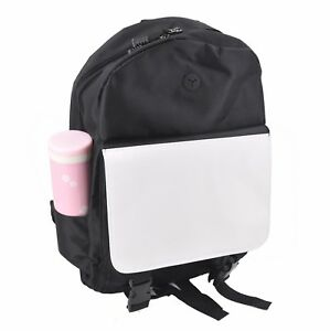 10pcs Sublimation Blank Diy Customize Print Bag Men s Backpack School Backpacks