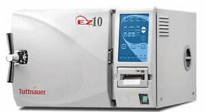 Tuttnauer Ez10p Fully Automatic Autoclave With Printer Warranty