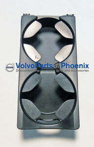 Genuine Volvo Center Console Cup Holder 2006 2013 C30 C70 S40 V50 New Oem