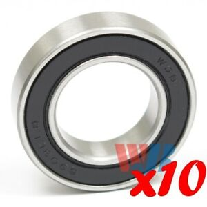 Set Of 10 Radial Ball Bearing 6903 llb With 2 Non contact Seals