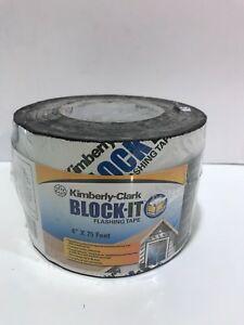 Kimberly clark Block it Flashing Tape 4 X 75ft