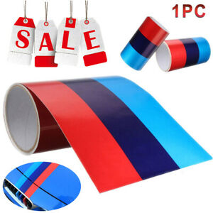 59 M Colored Stripe For Bmw Sticker Decal Diy Racing Cosmetic Hood Roof Bumper