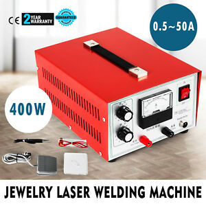 Jewelry Welding Machine Spot Welder Necklace 400w 110v Pulse Sparkle Spot Welder