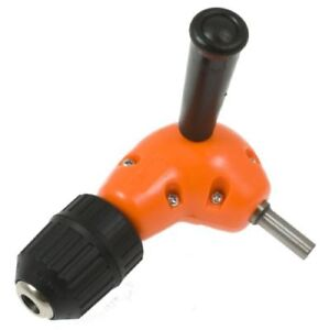 Right Angle Drill Attachment With Keyless Chuck