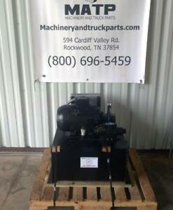 Airborne Bailer Hydraulic Power Unit 15hp 3 Phase 208 230 460 Vac Tefc 15gpm