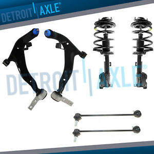 6pc Front Strut Lower Control Arm Kit For 2003 2004 2005 2006 2007 Nissan Murano