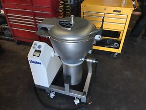 Stephan Vcm 44a Stainless Mixer Cutter W Dough Hook refurbished