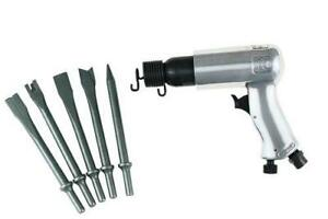 Air Hammer W 5 Pc Chisels Irc 116k