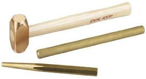 Brass Hammer And Punch Set otc 4606