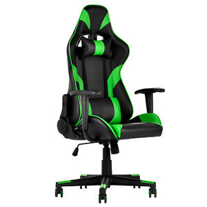 Mecor Adjustable Recliner Racing Gaming Office Chair Leather High Back Computer