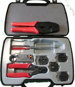 Crimp Tool Kit For Lmr 100 Lmr 195 Lmr 240 Lmr 400 Includes Dies stripper