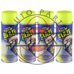 Performix 11222 Plasti Dip Yellow X4 11 Oz Spray Can Dip Your Truck Car