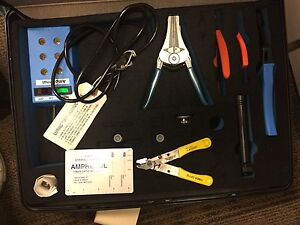 Amphenol St Tool Kit 9127 100 5041 And Curing Oven 927 100 2105 New