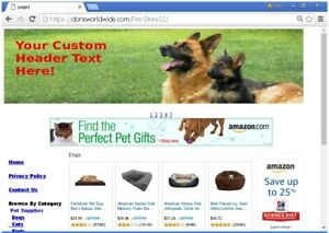 Pet Supply Store Profitable Website For Sale Free Bonuses Plus Much More