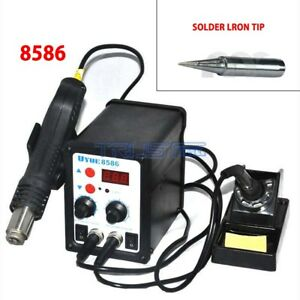 Tip 856 Rework Station Hot Air Gun Smd Iron Soldering Solder Holder 700w