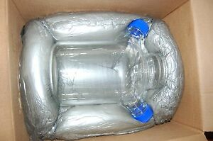 New Bellco Spinner U carrier Reactor Glass Culture 3 Flask 3000 Ml Liters 3l