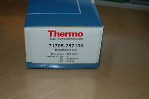 New Hplc Column Thermo Betabasic Cn 250x2 1 Mm 5um 71705 252130