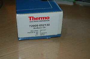 New Hplc Column Thermo Biobasic Cn 50x2 1 Mm 5um 72905 052130 Vwr