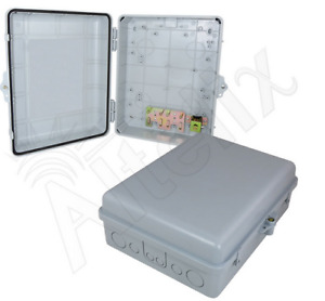 Altelix 14x11x5 Polycarbonate Abs Weatherproof Nema Box Outdoor Enclosure