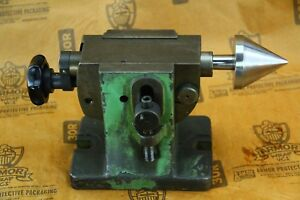 Adjustable Height Tailstock Machinist Tool Rotary Table Dividing Head Indexer