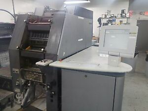2002 Heidelberg Quickmaster Di Pro Offset Press Qmdi 46 4