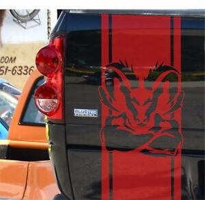 Dodge Ram 1500 5 7 L Vinyl Sticker Tailgate Decal Stripe Mopar Rebel Hemi Logo
