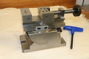 R hm Rohm Precision Machinist Milling Grinding Inspection Vise 70mm Jaw germany