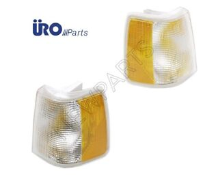 For Volvo 740 940 Uro Pair Set Of Right left Turn Signal Light Assemblies