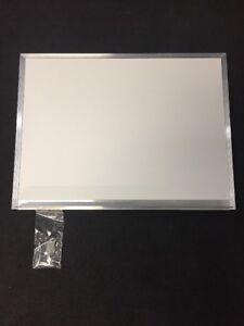New Wall Mount Dry Erase White Board 24x18 W marker Tray Aluminum Frame