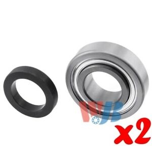 Pair Of 2 Ball Bearing Wheel Bearing Wjb Wb88131r Interchange 88131r 88131r 88
