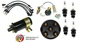 Ignition Tune Up Kit W Coil Ih Farmall 100 130 140 200 230 240 300 330 340 350