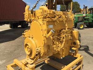 Caterpillar 3176 Turbo Diesel Engine Offers Welcomed